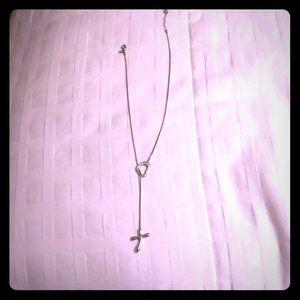 Cross + Heart Necklace
